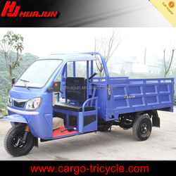 Motorized tricycle design for cargo and passenger use