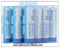 NI-MH 2700mAh rechargeable AA Battery for baby toy car /camera accessories /flashlight/clock