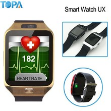 2015 Body fit heart rate monitor support 3D Magsensor,3D Gravity Acceleration Sensor U watch bluetooth Smart watch UX
