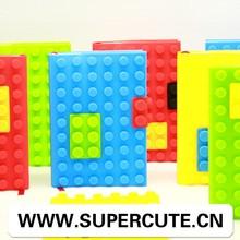 Nuevo diseño siete refrescantes colores manzana cubierta de silicona mini portátil