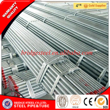 Gold supplier galvanized round steel pipe for greenhouse frame manufacturers China