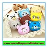 Animal Waterproof rubber silicon coin purse waterproof wallet