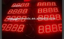 LED gas station sign led gas price display led recharging station sign