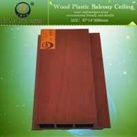 Wood Plastic Manufactured Interior PVC Shower Wall Cladding Panel