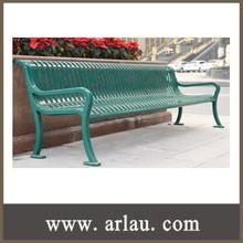 (FS39) Modern Cast Iron Bench Steel Garden Bench Park Bench