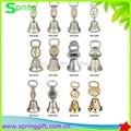 diseño personalizado de metal de recuerdos de la campana de la cena