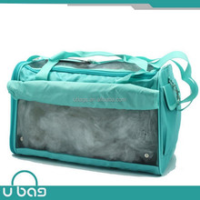 New arrival blue pet carrier bag,dog bag,portable pet bag