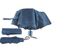 manual black rain foldable umbrella
