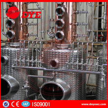 stainless steel industrial alcohol distilling systems