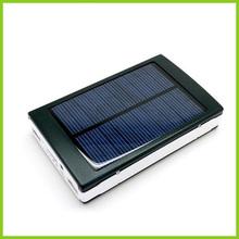 Fashion design battery charger Solar power bank 10000mAh dual USB Output High Solar energy efficient