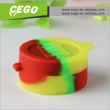 container silicone jars or wax oil extract bho, ball non-stick concentrate silicone container wax, silicone container for wax
