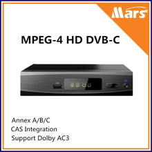 H.264 MPEG-4 High definition Digital Cable Receiver DVB-C Set Top Box, Receiver HD DVB-C