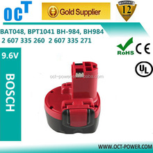 bosch 9.6v battery 2.1Ah Replacement power tool battery Ni-MH New batteries