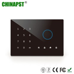 Cheap House Alarms Quad Band Touch Keypad GSM Wireless Alarm System Companies PST-GA242Q