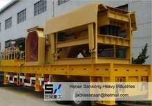 2012 New Type, World Wide, Advanced Mobile Crushing Plant With SX Brand