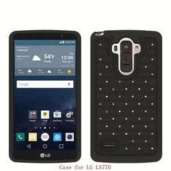 Alibaba Wholesale Bling Hybrid Plastic hard Case For zte Avid 4G N9120
