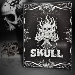 Skull Design Tattoo Book