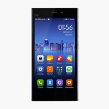 factory direct china Xiaomi mi3 red rice cell phone Quad Core 2.3GHz 5inch 16GB Android phone