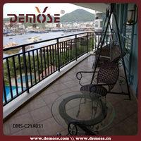 outdoor aluminum balcony hand rail railings stairs cover