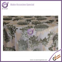#18259 different kinds of fabrics with pictures wholesale sequin fabric table cloth