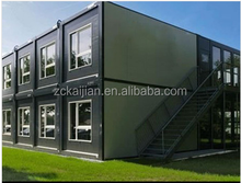 quickly build economic prefabricated modular 40ft container office