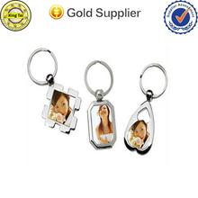 Fashional cheap custom digital photo keychain/keyring/keyholder