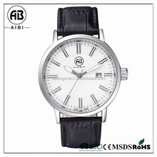2015 simple style design small moq japan movt men business wirst watch