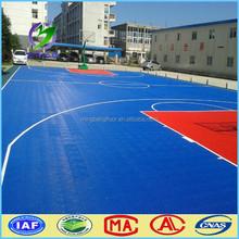 outdoor interlocking basketball flooring