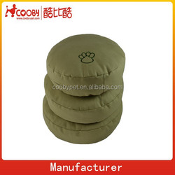 COO-2254-3 Dog paw embroidery simple dog bed cushion dog cushion