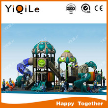 children outside play structure with CE approved
