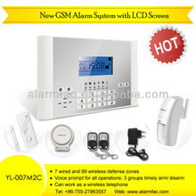 Wireless Security 868MHz Alarm System with SMS, Voice and Keypad