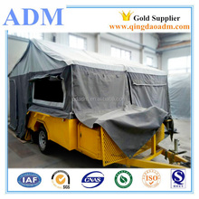China off Road Caravan Camping Camper Trailer with Tent
