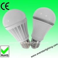 7W G60 A60 A55 450lm E27 White Led Bulb Light Led Solar Bulb