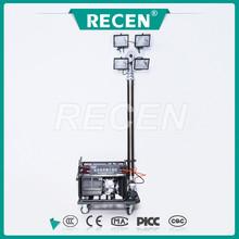 Móvel lifter iluminação lâmpada MH / HPS 4 * 500 w iodo lâmpada de tungstênio o ângulo ajustável
