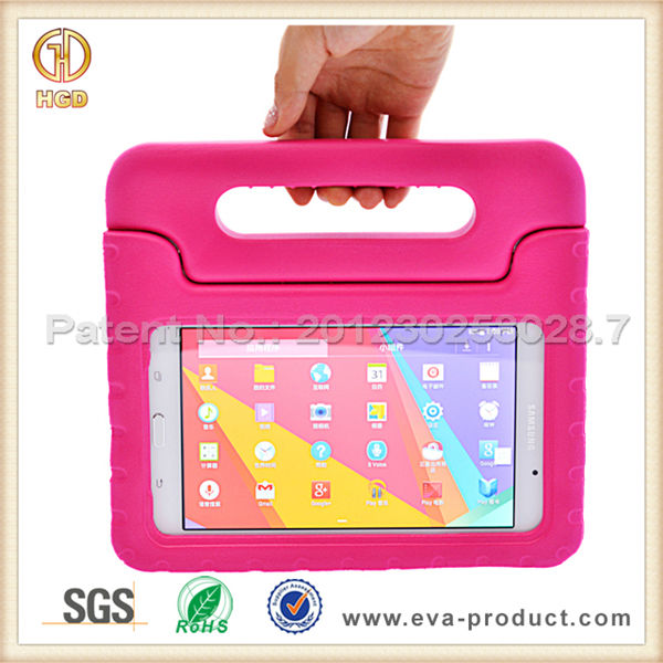 Kids 7 inch tablet case with Handle for Samsung Galaxy Tab 4