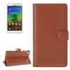 Hot Products Litchi Texture Leather Flip Cover Case for Lenovo Note 8