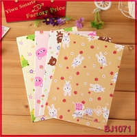 stationery from china animal pattern cover custom design print notebook