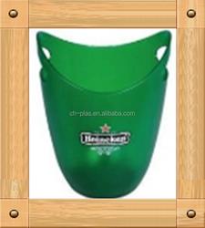 Wholesale ice bucket plastic for energy drink barware