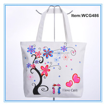 custom printed canvas tote bags,fashion custom tote bags no minimum,canvas expandable file tote bag