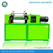 lab rubber mixing mill / plastic mill / 2 roll mill for color masterbatch testing
