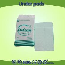 manufactor good nurse disposable hospital under pads