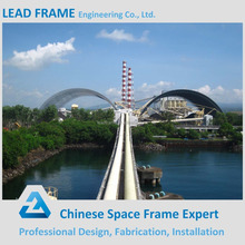 Large span stainless steel structure arch coal storage