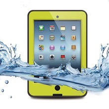 For ipad mini waterproof case yellow