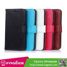 Wallet Leather Cover with Stand for Samsung Galaxy S6 SM-G920