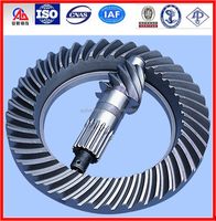 Stainless steel helical bevel gear forged