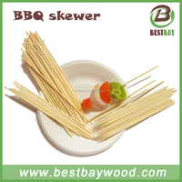 Bamboo BBQ skewer natural