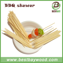 Bamboo BBQ skewer natural