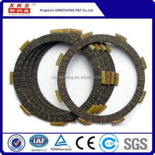 motorcycle friction disc clutch, clutch fiber Bajaj clutch plate friction
