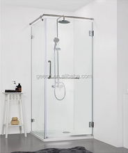 2015 new design nano glass shower enclosure with pivot door GD9032