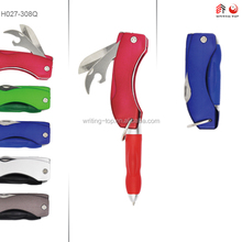Popular novelty knife metal pen stationery